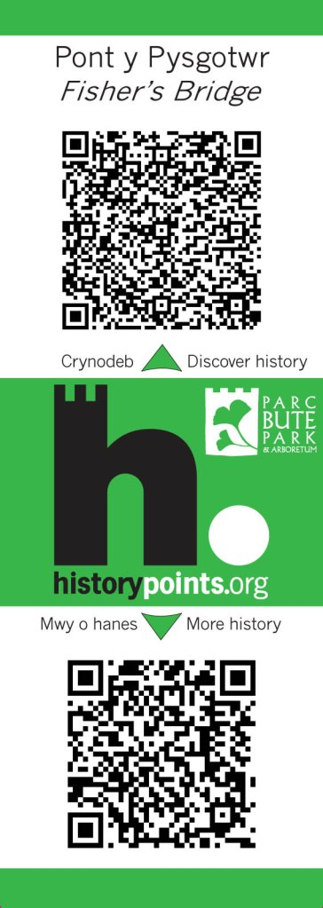 HistoryPoints label Fishers Bridge